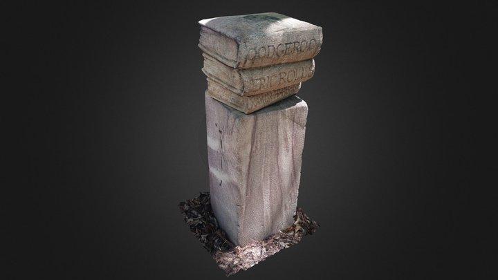 Sandstone Books 3D Model