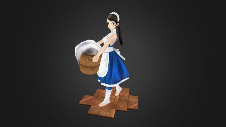 Maid 3D Model