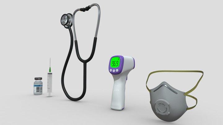 Medical assets pack 3D Model