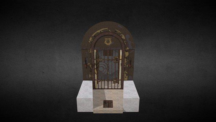 [Porte] Cellule 019 - Entrée (2018) 3D Model