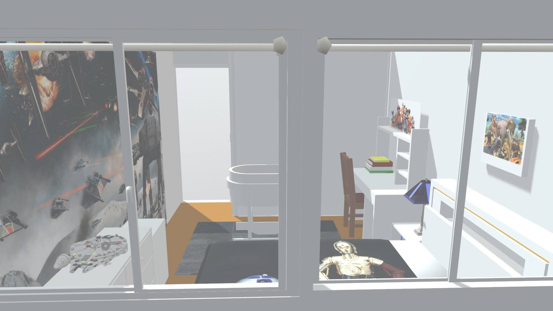 Kid's Room Design - Download Free 3D model by AwesomeClub ...