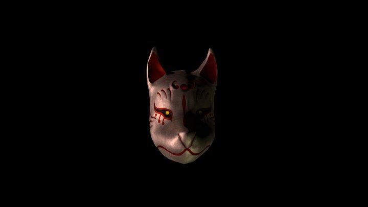 Kitsune Mask 3D Model