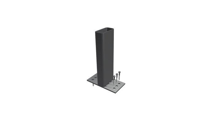 End Anchor 001 3D Model