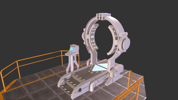 Teleport 3D Model
