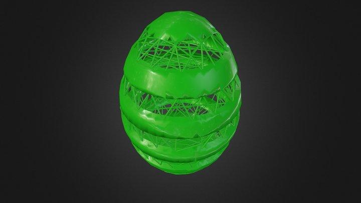 Dan Hoopert - Photoshop CC 3D Egg 3D Model