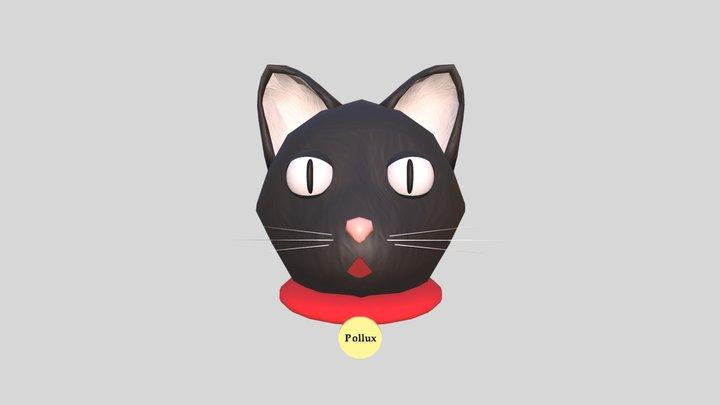 Pollux the Cat 3D Model