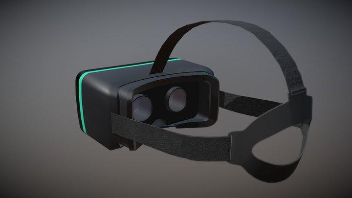 VR Headset Free Model 3D Model