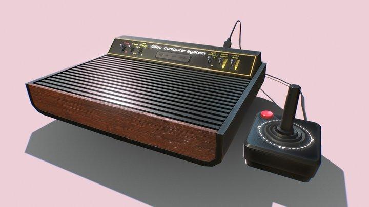 Atari 2600 3D Model