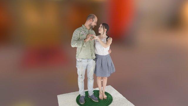 Ivan&Chele 3D Model