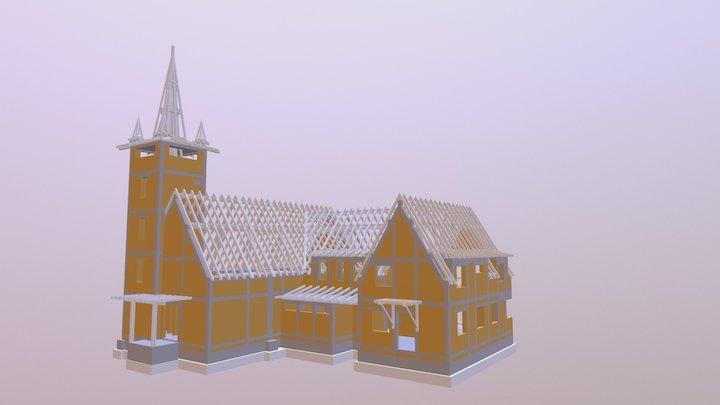 Calvinist Church of Florești/Szászfenes 3D Model