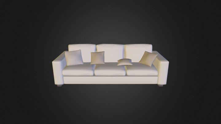 KD sofa4 3D Model