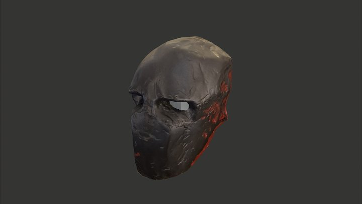 Mask - Army of Two, Salem Mask 3D Model
