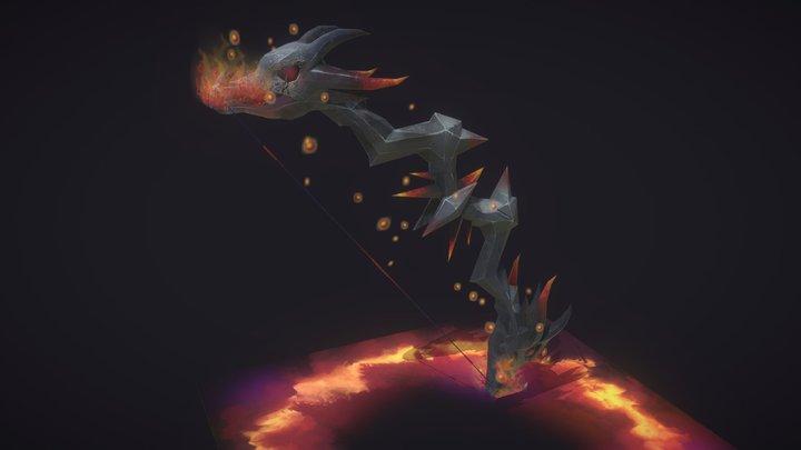 Deathwing's Wrath 3D Model