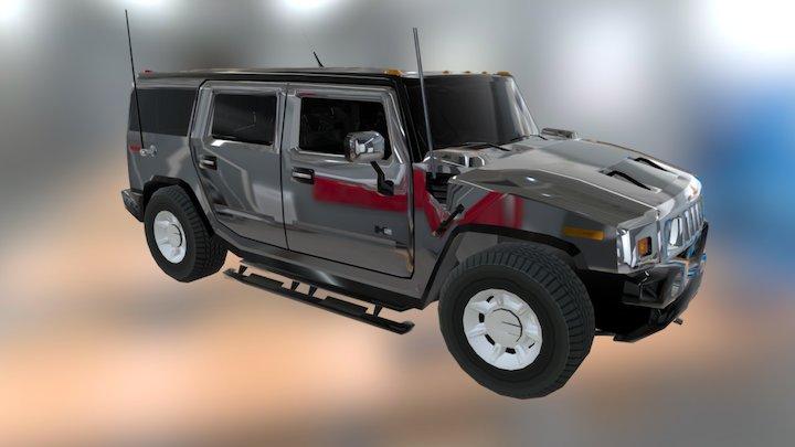 Hummer 3D Model