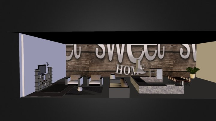 Ally's Home sweet Home 3D Model