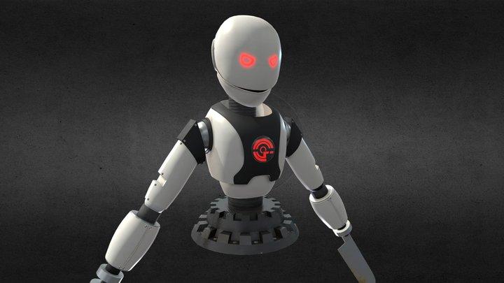 Cooking Robot - Evil 3D Model