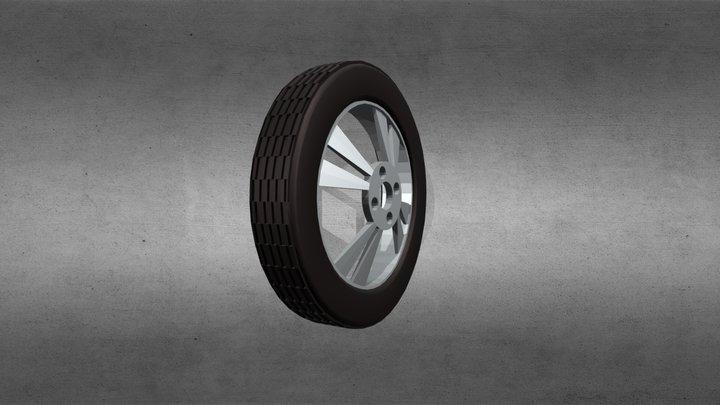 Modelling A Wheel 3D Model