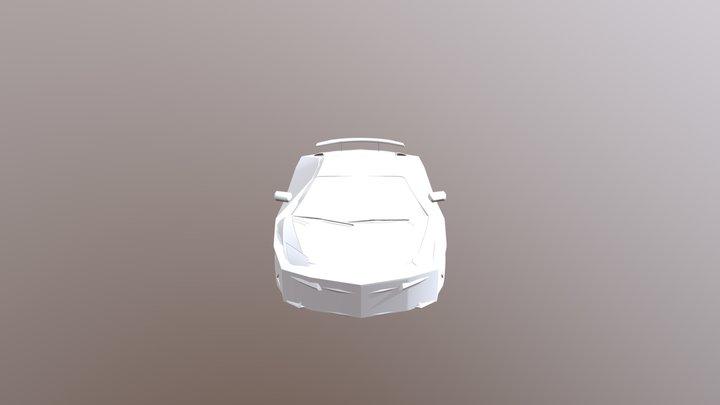 Lamborghini Aventador By RM 3D Model
