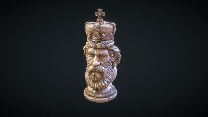 Chess Piece, King 3D Model