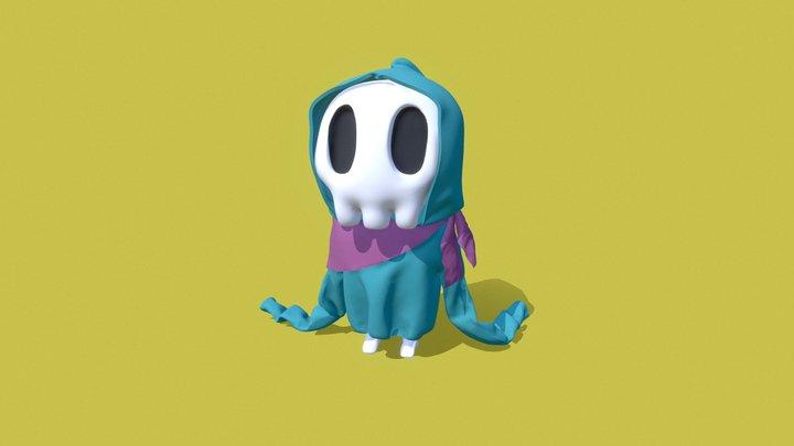 Little Skull 3D Model