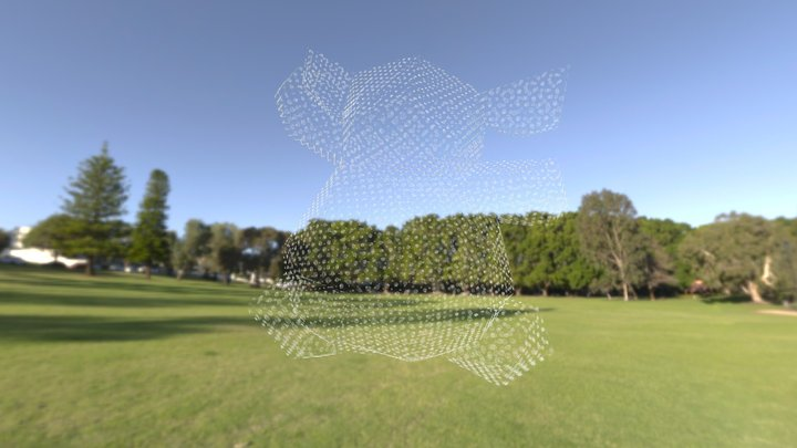 Low-res_Spiral bear (Shenton Park) 3D Model