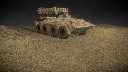 Mobile Missile Tank (Metal Gear Solid 5) 3D Model