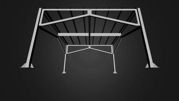 IMP Struct Modul Solar V1 C 3D Model