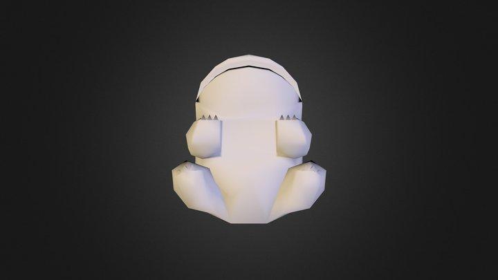 BR_Bulbasaur 3D Model