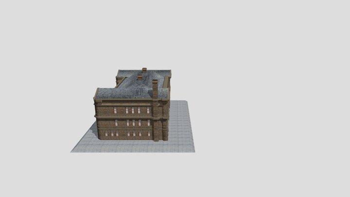 camphill high school, Paisley 3D Model