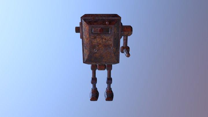 Box Character One 3D Model