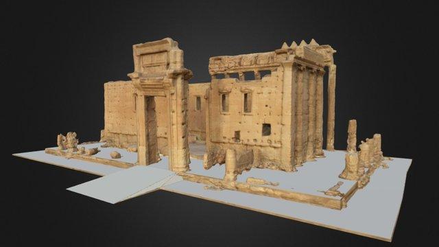 Bel Temple of Palmyra 3D Model
