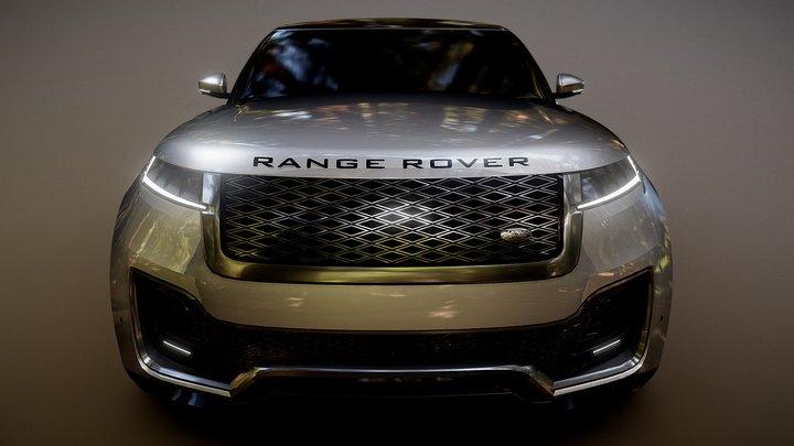 Range Rover Sedan Concept by K  E  N™ 3D Model
