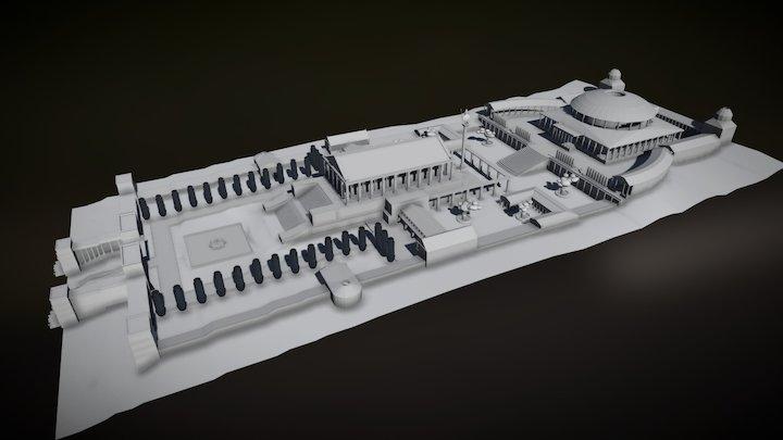 "Reconstruction ""Libary of Alexandria"" 3D Model"