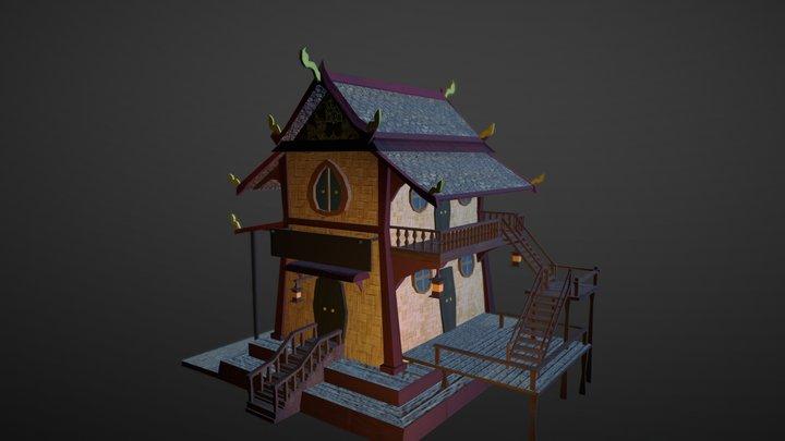 Baan Yaa 3D Model