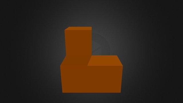 Orange Piece New 3D Model