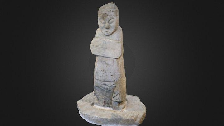 Stone Man 3D Model