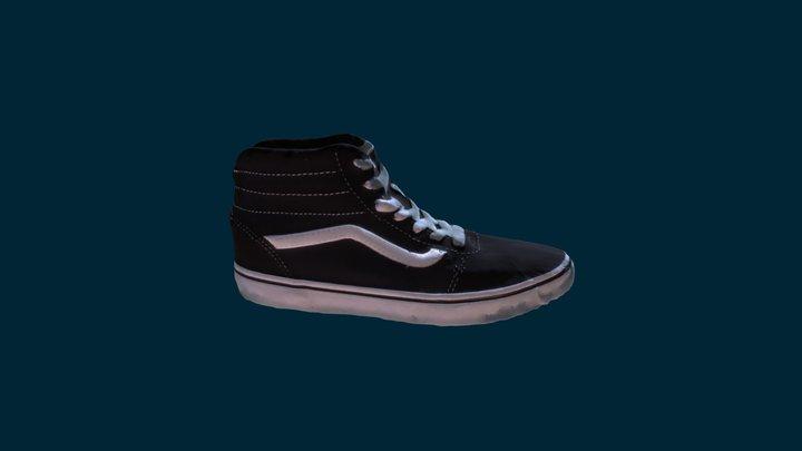 Vans Shoe 3D Model