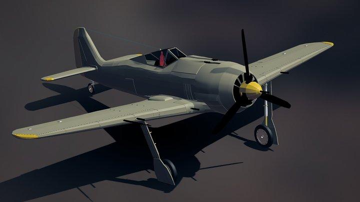 FW 190 3D Model