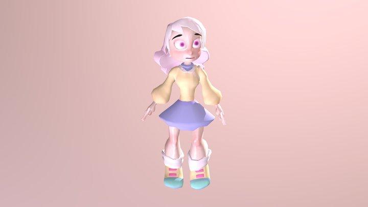 PASTEL GIRL 3D Model