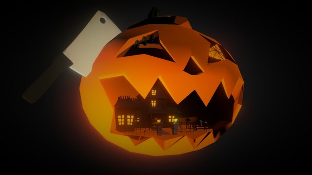 Halloween: Inside World 3D Model