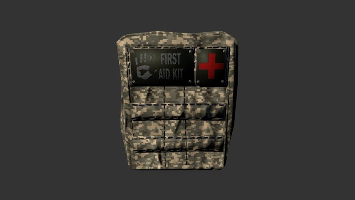 First-aid Kit 2 3D Model