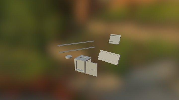 Cube-lit 3D Model