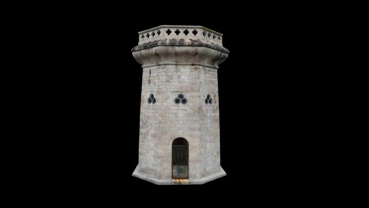 Moorish Tower (Low-Res) 3D Model
