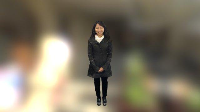 Miss Model 3D Model