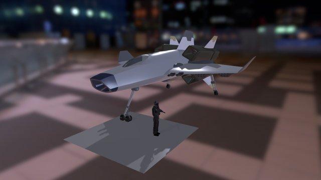 LBSI APEB - Aeronautic Proto Typ Kx19 3D Model