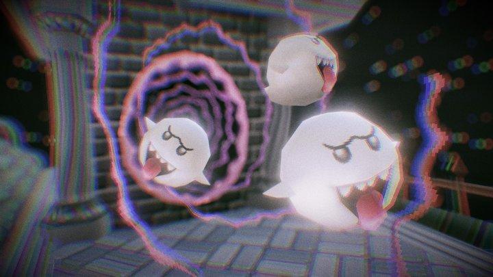 Sanity: 0 - Luigis Mansion X Resident Evil 3D Model