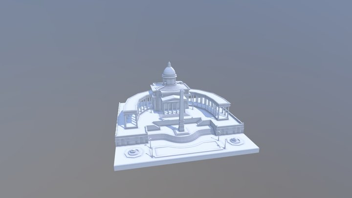 Mortal Engines Scene Blocking 3D Model