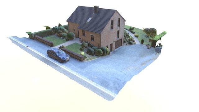 Maison 4 façades 3D Model