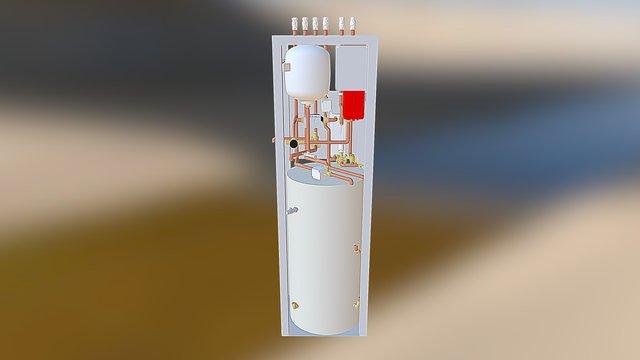 Pod Assembly 3D Model