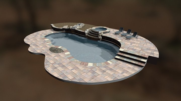 Dream Pool: Copeland 3D Model